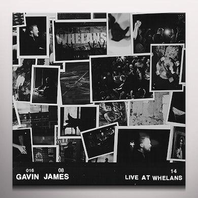 Gavin James LIVE AT WHELANS (CLEAR VINYL) Vinyl Record