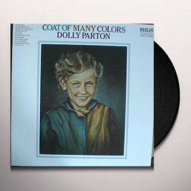 Dolly Parton COAT OF MANY COLORS Vinyl Record