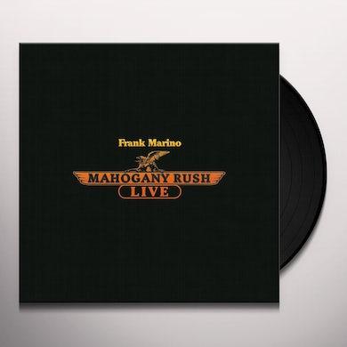 Frank Marino & Mahogany Rush LIVE Vinyl Record