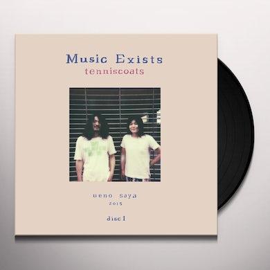 Tenniscoats MUSIC EXISTS Vinyl Record