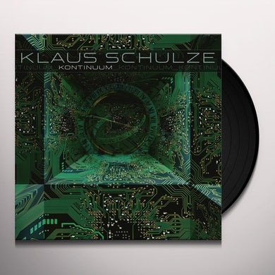 Klaus Schulze KONTINUUM Vinyl Record