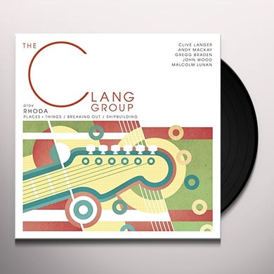 CLANG EP Vinyl Record