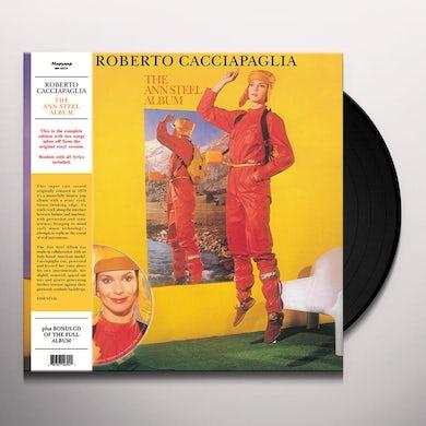 Roberto Cacciapaglia ANN STEEL ALBUM Vinyl Record