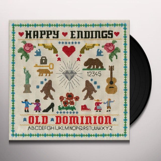 Old Dominion HAPPY ENDINGS Vinyl Record