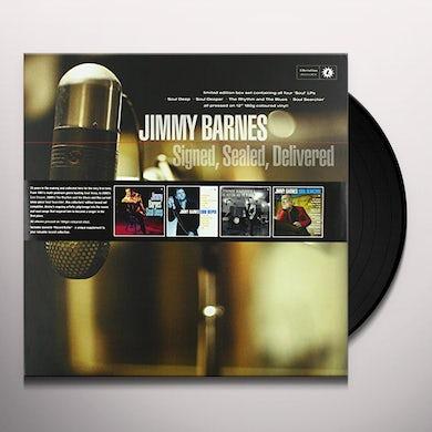 Jimmy Barnes SIGNED SEALED DELIVERED Vinyl Record