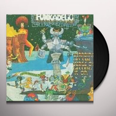 Funkadelic STANDING ON VERGE OF GETTING IT ON Vinyl Record