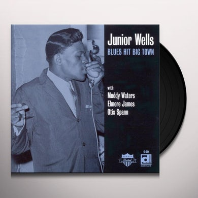 Junior Wells BLUES HIT BIG TOWN Vinyl Record