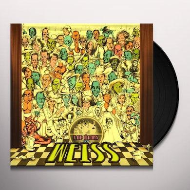 Chuck E Weiss RED BEANS & WEISS (BLACK) Vinyl Record