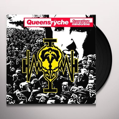 Queensrÿche OPERATION MINDCRIME Vinyl Record