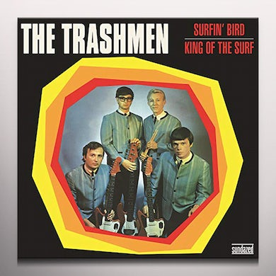 The Trashmen SURFIN' BIRD / KING OF THE SURF - Limited Edition Gold Colored Vinyl Record