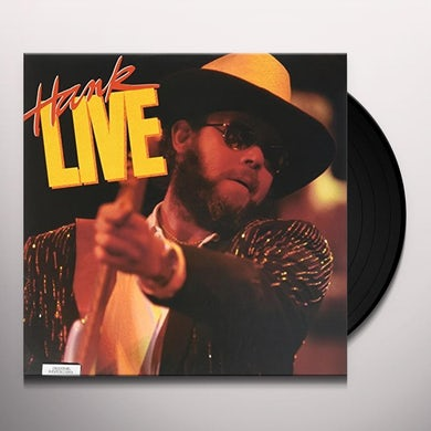 Hank Williams Jr. LIVE (MY NAME IS BOCEPHUS: ALL MY ROWDY FRIENDS) Vinyl Record