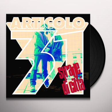Articolo 31 STRADE DI CITTA Vinyl Record