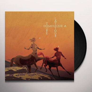 Dominique A TOUTE LATITUDE Vinyl Record