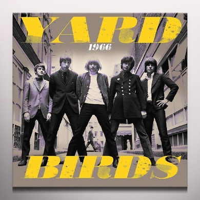 The Yardbirds 1966: LIVE & RARE - Limited Edition Orange Colored Vinyl Record