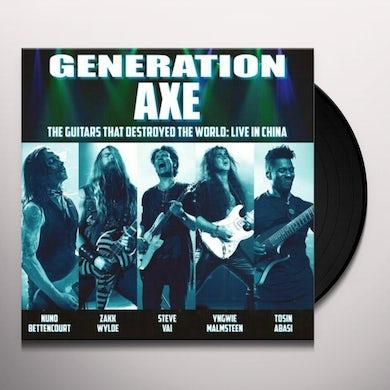 Vai / Wylde / Malmsteen / Bettencourt / Abasi GENERATION AXE: GUITARS THAT DESTROYED THAT WORLD Vinyl Record
