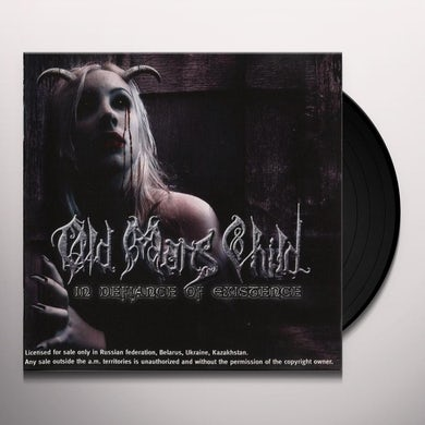 Old Man's Child  IN DEFIANCE OF EXISTENCE Vinyl Record