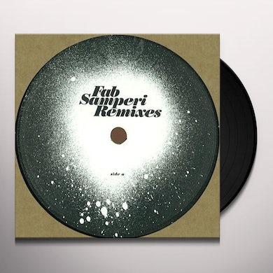 Fab Samperi REMIXES Vinyl Record