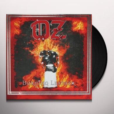 Oz BURNING LEATHER (GER) Vinyl Record