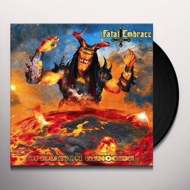 Fatal Embrace OPERATION GENOCIDE Vinyl Record