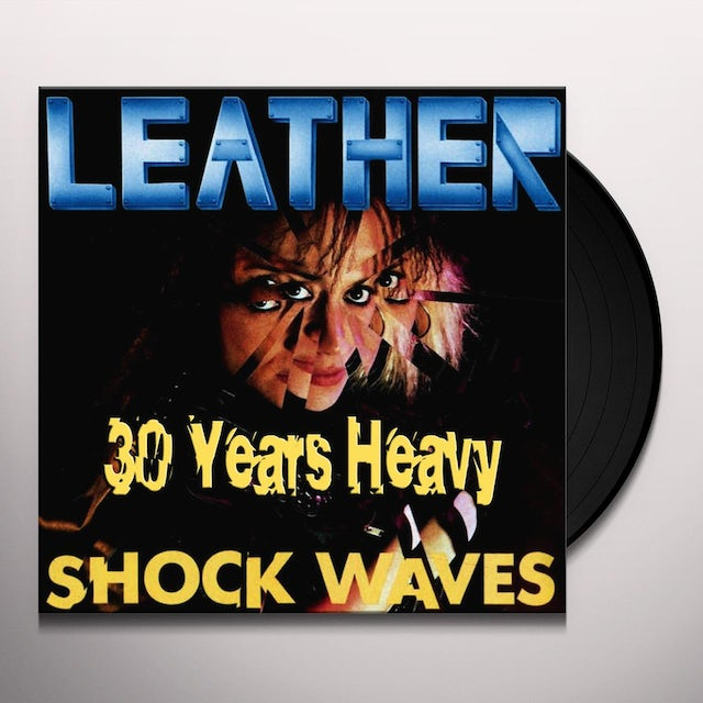 Leather SHOCK WAVES: 30 YEARS HEAVY Vinyl Record