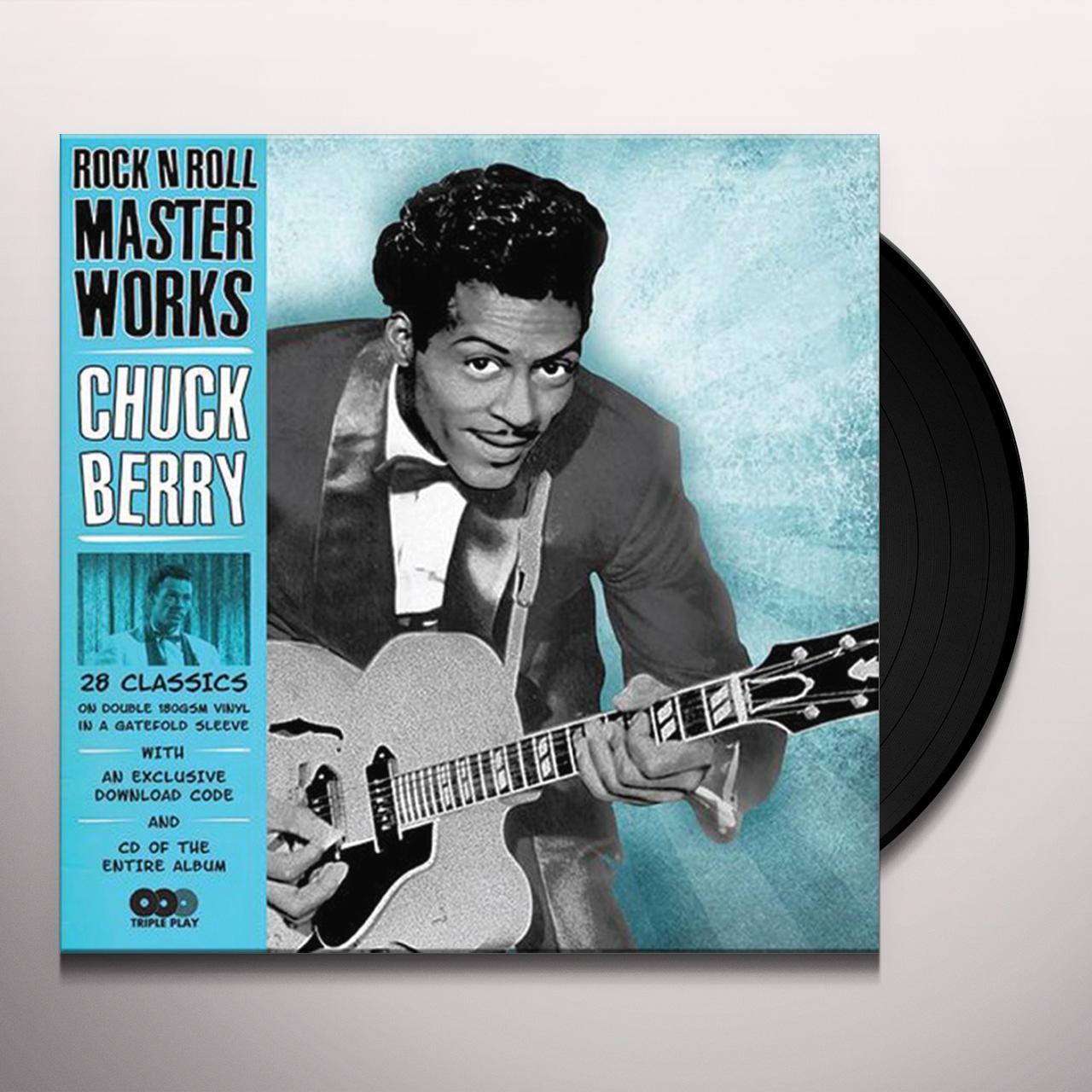 Chuck Berry ROCK 'N ROLL MASTERWORKS Vinyl Record