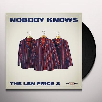 Len Price 3 NOBODY KNOWS Vinyl Record - UK Release