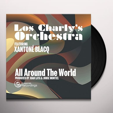 Los Charly's Orchestra ALL AROUND THE WORLD Vinyl Record