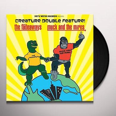 Fadeaways Vs. Muck & Mires CREATURE DOUBLE FEATURE Vinyl Record