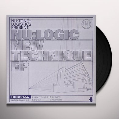 Nu:Logic NEW TECHNIQUE EP Vinyl Record - UK Release