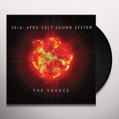 Afro Celt Sound System SOURCE Vinyl Record