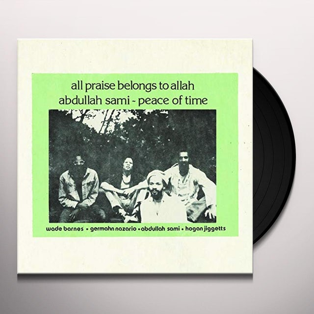 Abdullah Sami PEACE OF TIME Vinyl Record