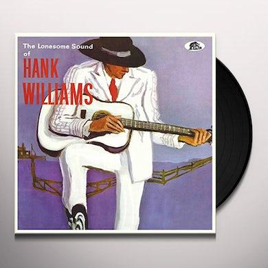 Hank Williams LONESOME SOUND Vinyl Record