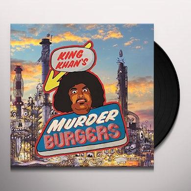 King Khan MURDER BURGERS Vinyl Record