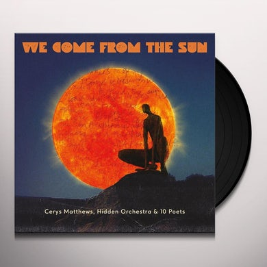 Cerys Matthews POETRY ALBUM Vinyl Record