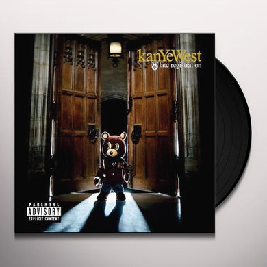 Kanye West Late Registration (2 LP) Vinyl Record