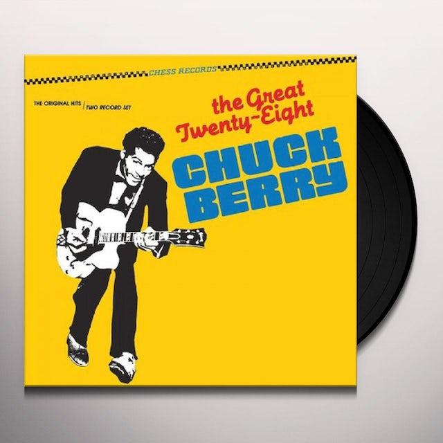 Chuck Berry GREAT TWENTY-EIGHT Vinyl Record
