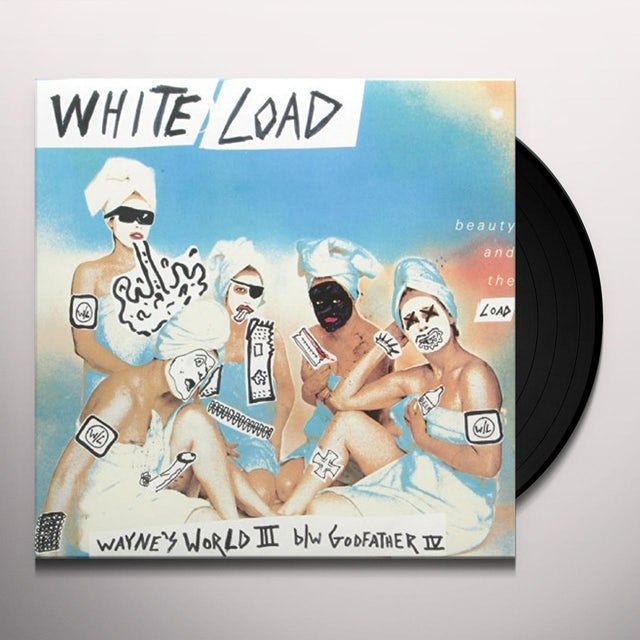White Load WAYNE'S WORLD III B/W GODFATHER Vinyl Record