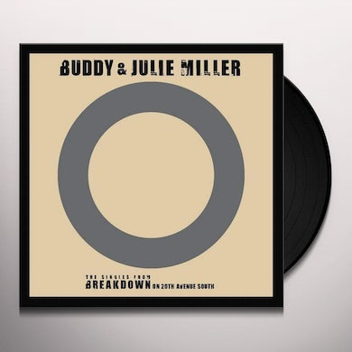 Buddy Miller & Julie I'M GONNA MAKE YOU LOVE ME / CAN'T CRY HARD ENOUGH Vinyl Record