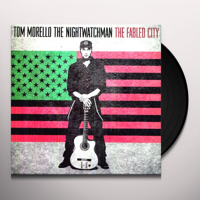 Tom Morello: the Nightwatchman FABLED CITY Vinyl Record