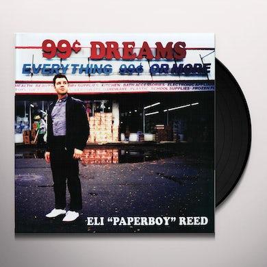 Eli Paperboy Reed 99 CENT DREAMS (DL CODE) Vinyl Record