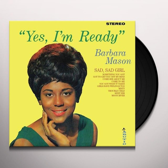 Barbara Mason YES I'M READY Vinyl Record