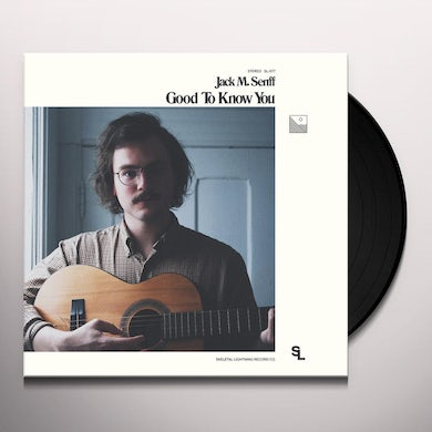 Jack M Senff GOOD TO KNOW YOU Vinyl Record
