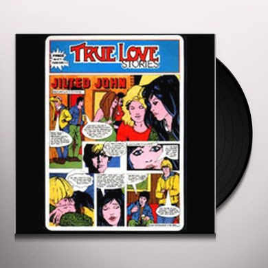 Jilted John TRUE LOVE STORIES: 40TH ANNIVERSARY EDITION Vinyl Record