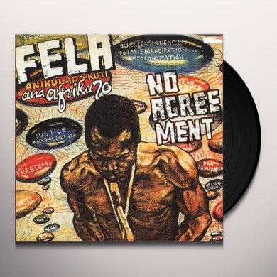 Fela Kuti NO AGREEMENT Vinyl Record