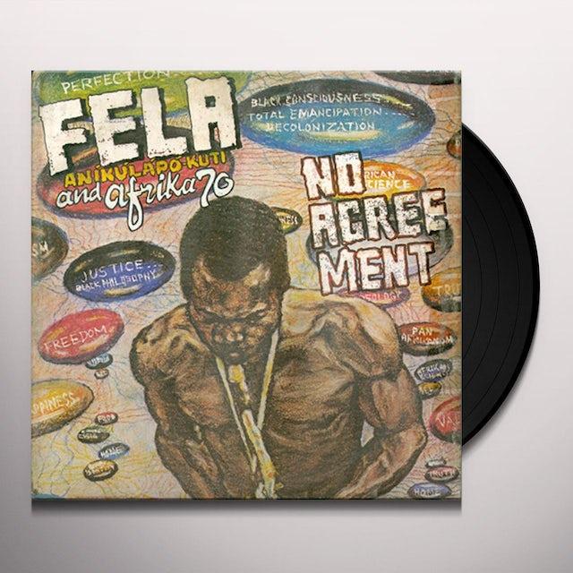 Fela Kuti NO AGREEMENT Vinyl Record