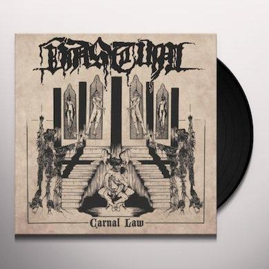 Vastum CARNAL LAW Vinyl Record