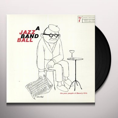 Terry Gibbs JAZZ BAND BALL Vinyl Record