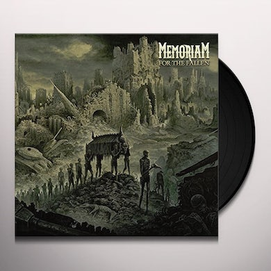 MEMORIAM FOR THE FALLEN (BEER VINYL) Vinyl Record
