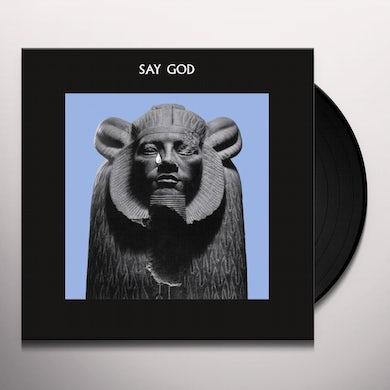Daniel Higgs SAY GOD Vinyl Record