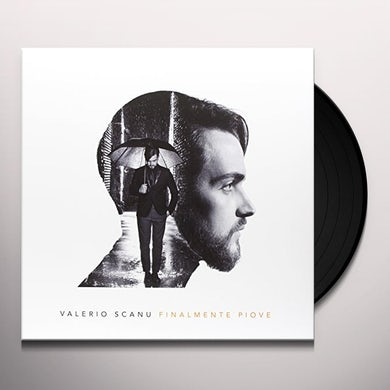 Valerio Scanu FINALMENTE PIOVE Vinyl Record